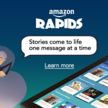 Amazon Rapids - short stories for kids in a monthly subscription