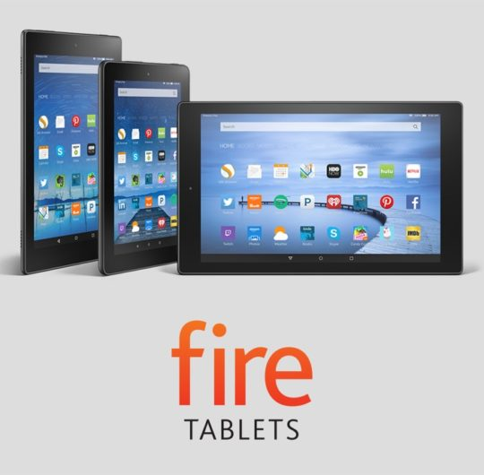 Cyber Monday 2016 - deals on Amazon Fire tablets