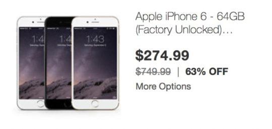 Cyber Monday 2016 - iPad iPhone deals eBay