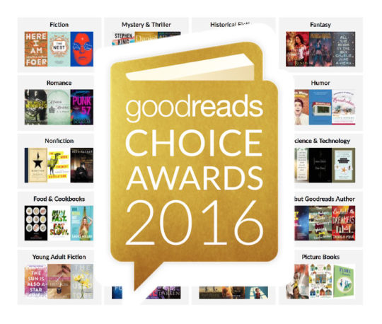 Goodreads Choice Awards 2016 - cast your vote