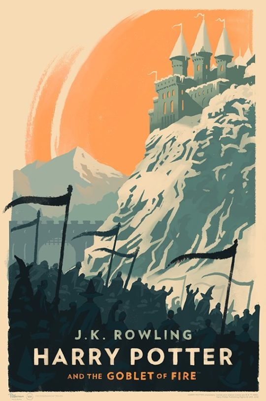Harry Potter and the Goblet of Fire - poster by Olly Moss