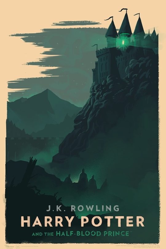 Harry Potter and the Half-Blood Prince - poster by Olly Moss