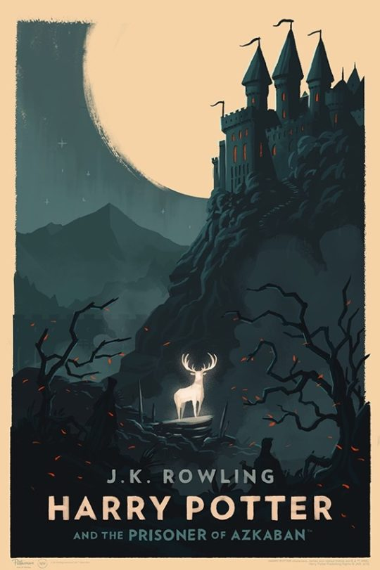Harry Potter and the Prisoner of Azkaban - poster by Olly Moss