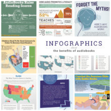 Best infographics about the benefits of audiobooks