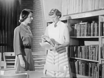 Library organization in 1951 video