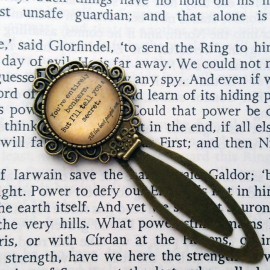Amazon Handmade: Metal bookmarks from Elysian Workshop