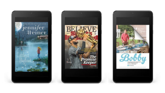Nook Tablet 7 2016 - books and magazines