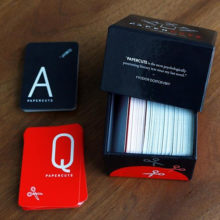 Papercuts literary card game from Electric Lit