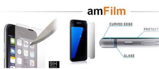 Save on amFilm screen protectors - Cyber Monday 2016