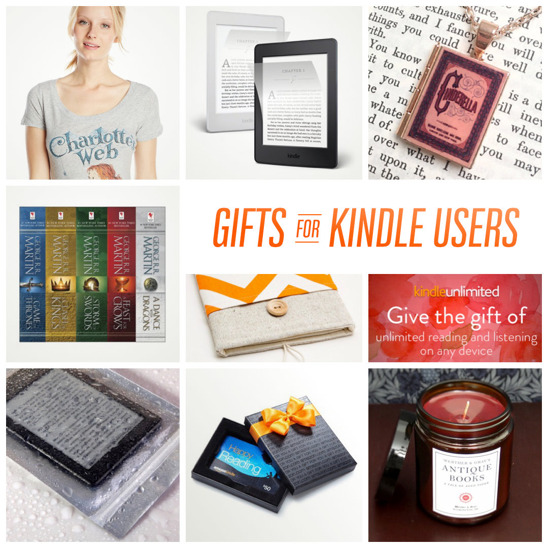 Best gift ideas for Kindle owners