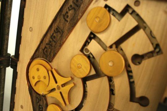 Codex Silenda puzzle book - Geneva Gears