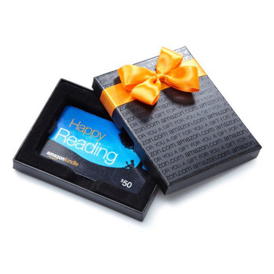 Gifts for Kindle owners - Amazon gift card