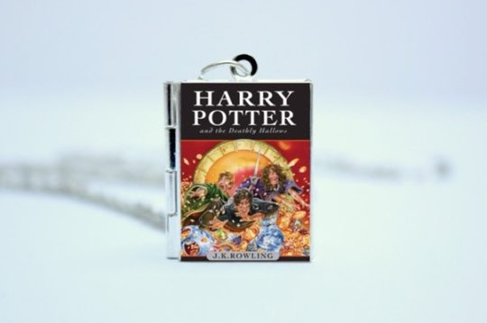 Gifts for book lovers - miniature book charm