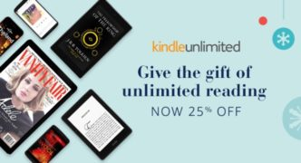 Kindle Unlimited 12-month subscription deal for December 2016