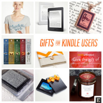 The best gift ideas for the Kindle user in your life