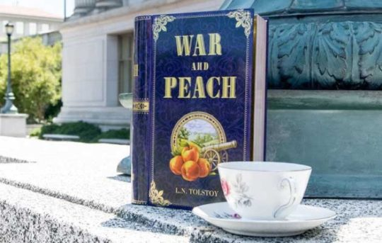 NovelTea blend - War and Peach
