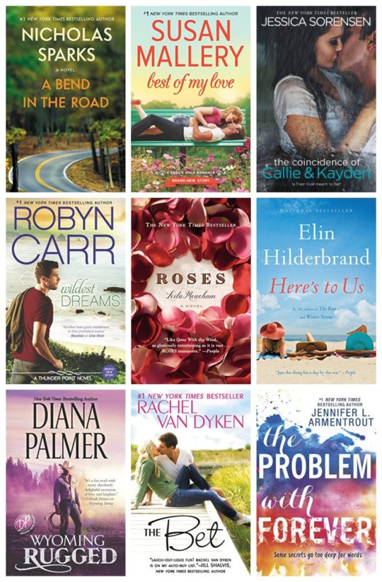 Valentine's Day 2017 deal on bestselling Kindle romance novels
