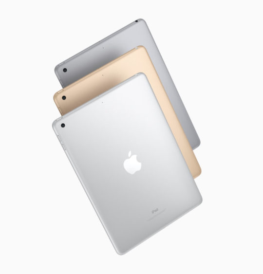Apple iPad 9.7 2017 comes in three colors