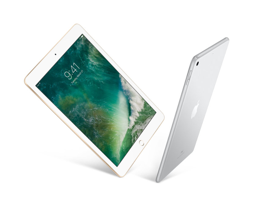 Apple iPad 9.7 2017 front and back