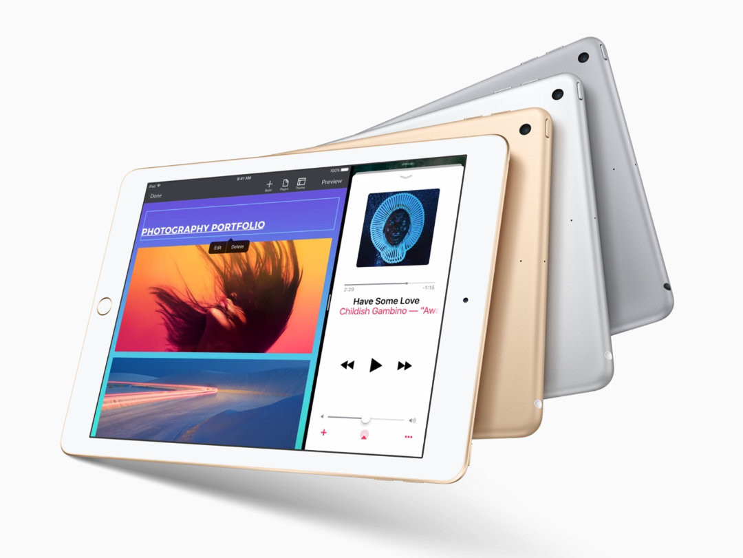 Apple iPad 9.7 2017 offers up to 10 hours of battery life