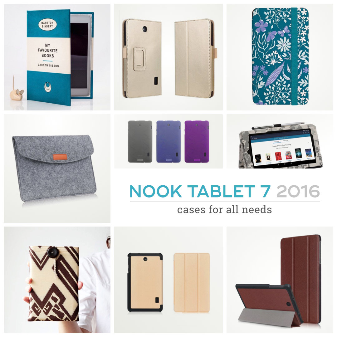 Best Barnes & Noble Nook Tablet 7 (2016) case covers