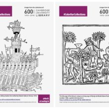 Free coloring book from Cambridge University Library