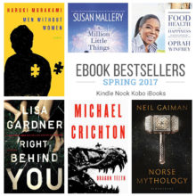 Must-read ebook bestsellers for spring 2017