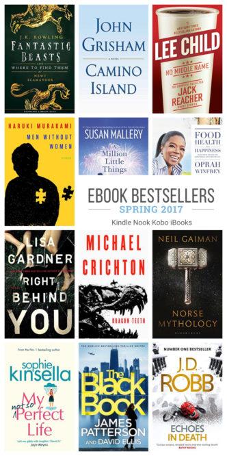 Must-read ebook bestsellers for spring 2017