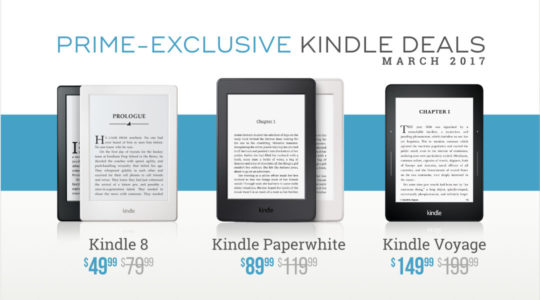 Prime-exclusive Kindle deals for March 2017