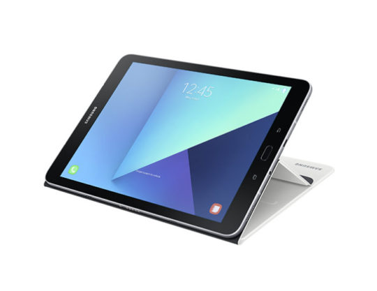 Samsung Galaxy Tab S3 9.7 2017 with White Cover