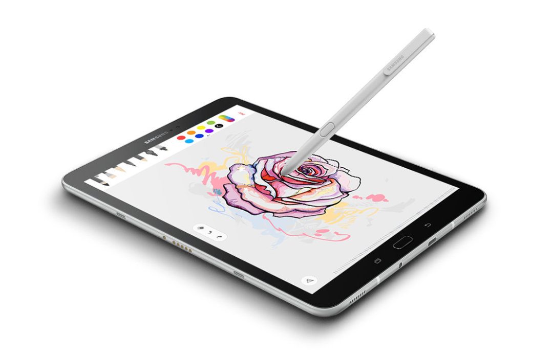 Samsung Galaxy Tab S3 9.7 2017 with a revolutionary S Pen