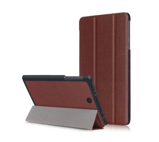 Slim Stand Leather Shell Skin Case for Nook Tablet 7 2016