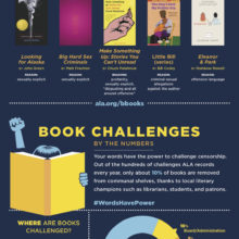 10 most challenged books of 2016 #infographic