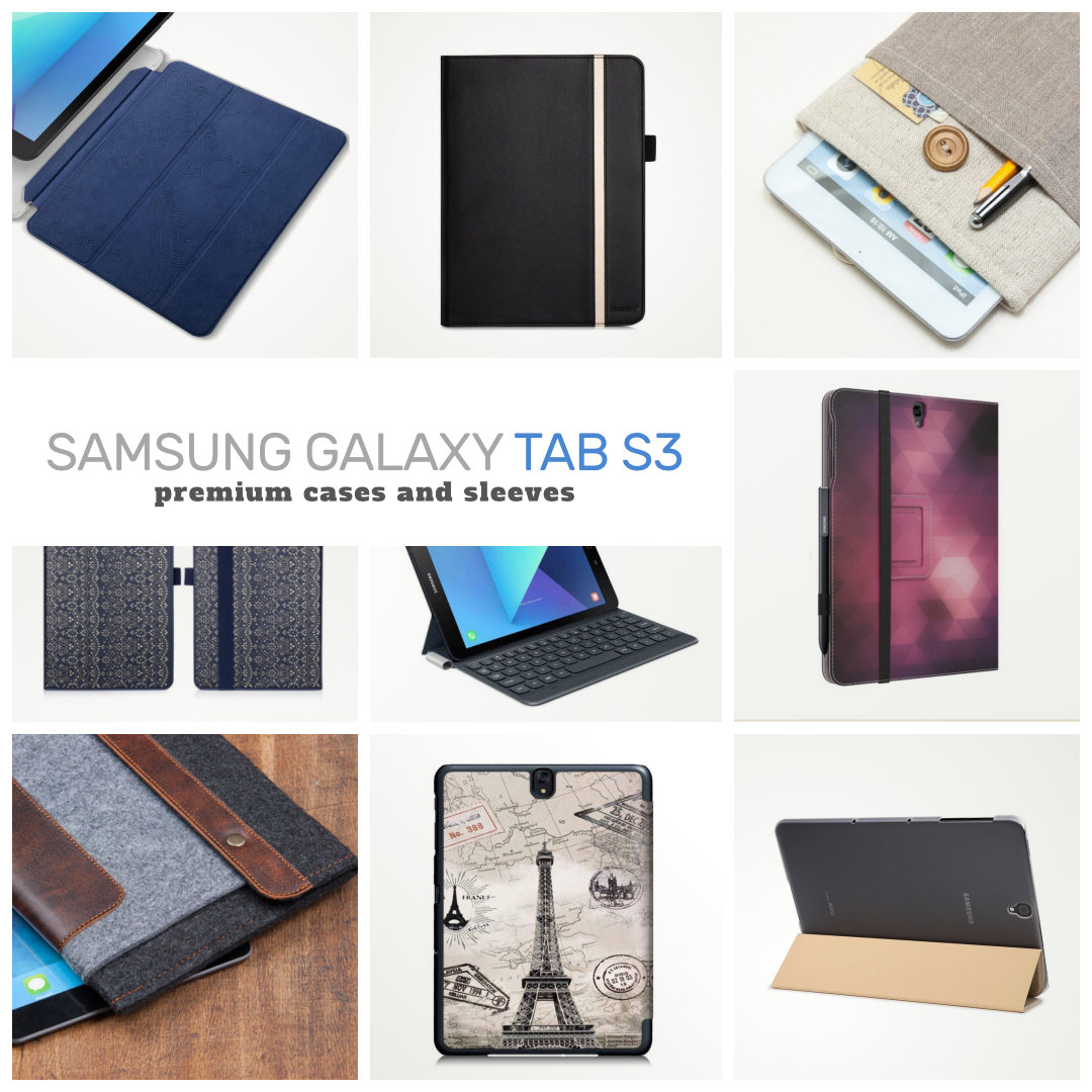 12 Premiumlooking Samsung Galaxy Tab S3 97 Cases And Sleeves