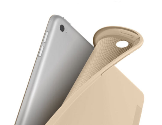 dtto flexible back slim case for ipad 97 beige