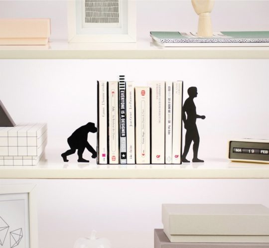 Evolution bookends - gifts for mom and dad