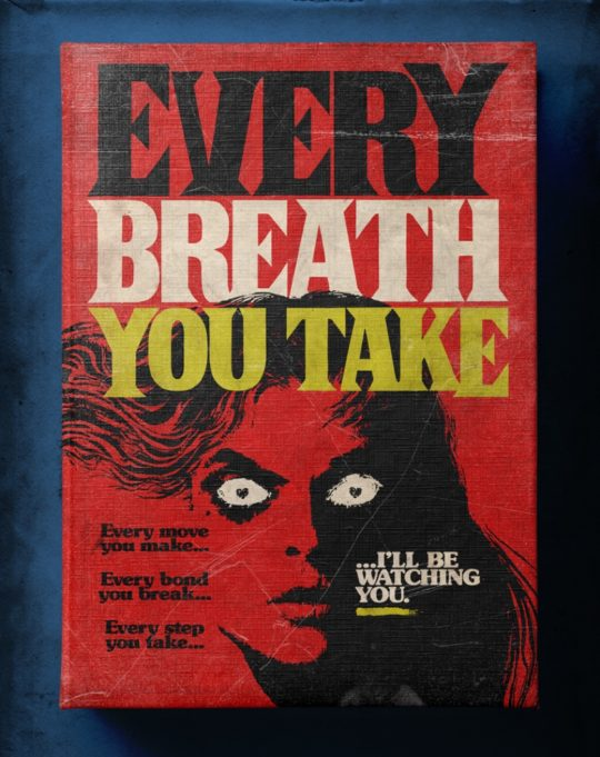 Famous songs as Stephen King books - Every Breath You Take