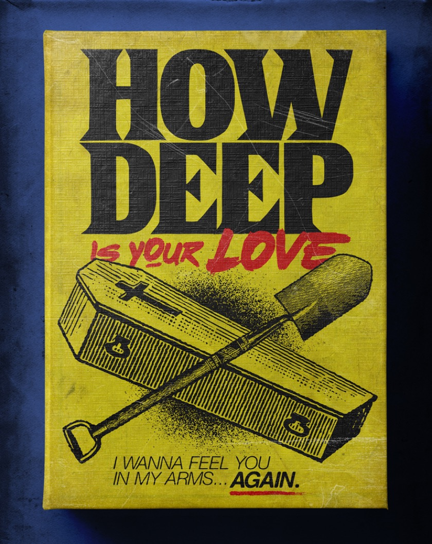 Famous songs as Stephen King books - How Deep Is Your Love