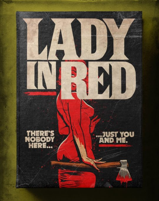 Famous songs as Stephen King books - Lady in Red