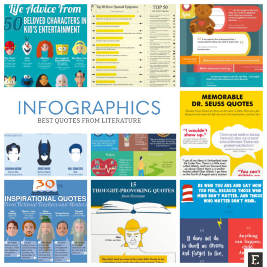 15 Infographics With The Best Quotes From Literature