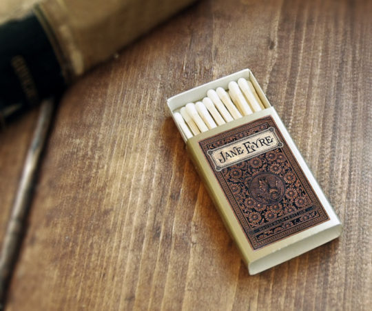 Jane Eyre literary matches - gift ideas for mom and dad
