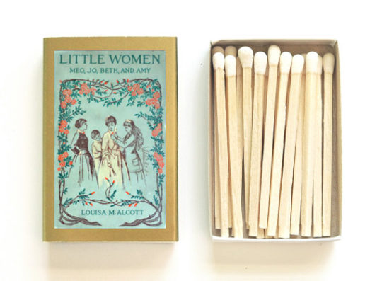 Little Women Literary Matchbox from Studio Portmanteau