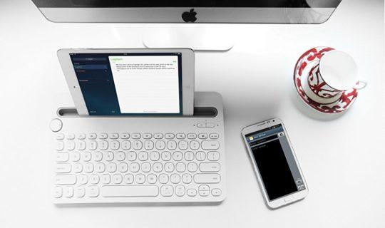 Logitech Universal Bluetooth Keyboard iPad iPhone