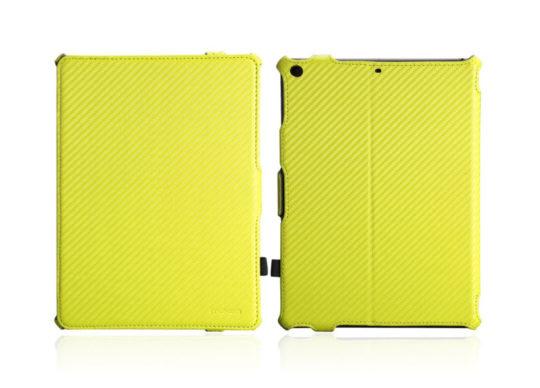 MoKo Carbon Fiber iPad 2017 9.7 Stand Case