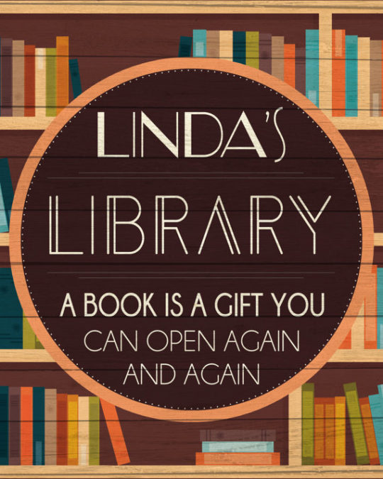 Personalized home library sign gift ideas