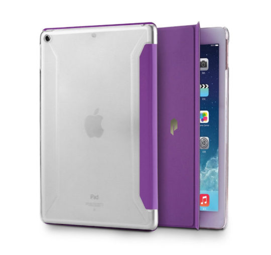 4fe6d6e26c89 Poetic iPad 9.7 2017 Slim-fit Trifold Case Cover