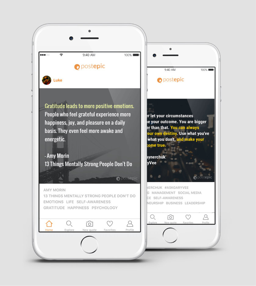 Quote Apps: Postepic App Lets Capture Quotes From Print Books And