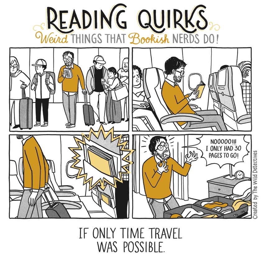 Reading Quirks No. 25 - If only time travel was possible