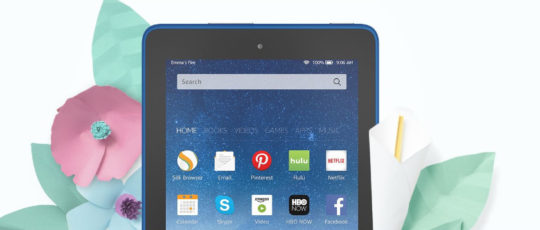 Spring 2017 deal on Amazon Fire tablets - save up to 22%