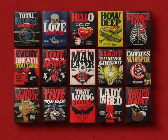 Stephen King's Stranger Love Songs project by Butcher Billy